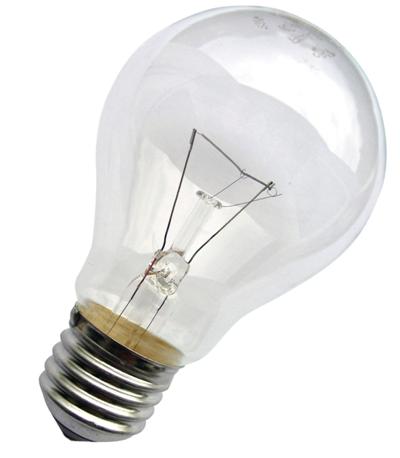 Лампа накаливания общего назначения (вакуумные)
