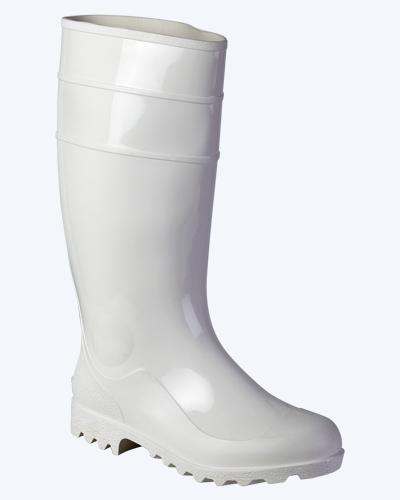 Сапоги ПВХ мужские, высокие (белые) Артикул: 003705