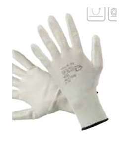 004482 Перчатки нейлоновые с ПУ
