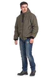 "Куртка ""Бомбер"" мужская демисезонная двухсторонняя"