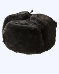 Шапка-ушанка (мутон)