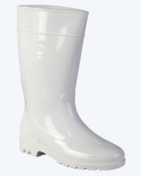 Сапоги ПВХ женские, высокие (белые) Артикул: 003726
