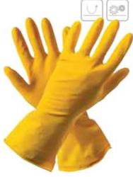 001189 Перчатки хозяйственные латексные
