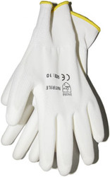 Перчатки нейлоновые с ПУ покрытием