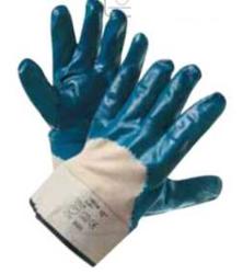 017798 Перчатки нитриловые полуобливные