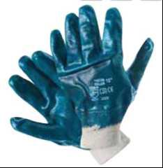 012689 Перчатки нитриловые обливные