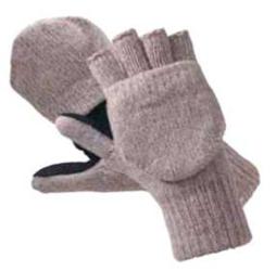 073626 Перчатки-варежки шерстяные «Эвены»